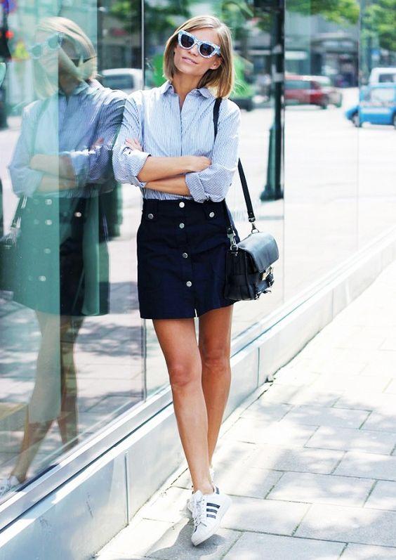 a7203df6b 6 Tipos de zapatos para combinar una falda corta - La Revista IN